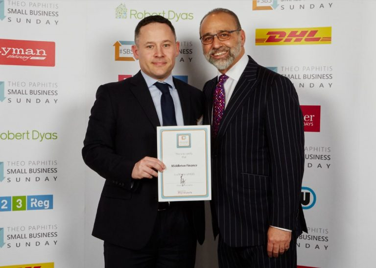 Theo Paphitis - Small Business Sunday Award